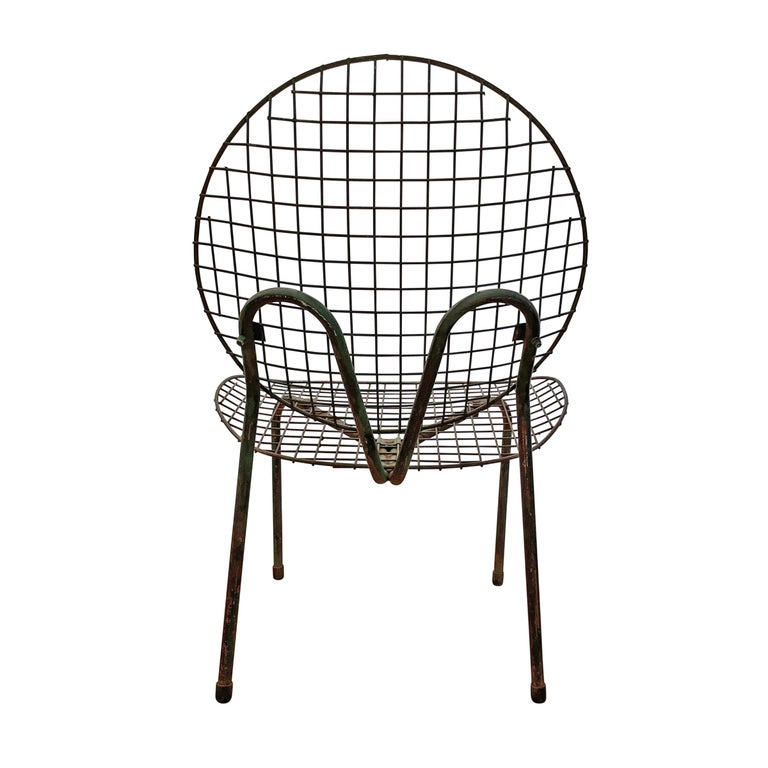 Pair of French Garden Chairs For Sale 2