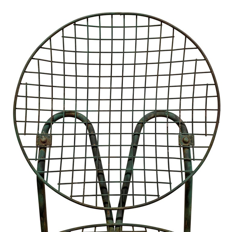 Pair of French Garden Chairs For Sale 3