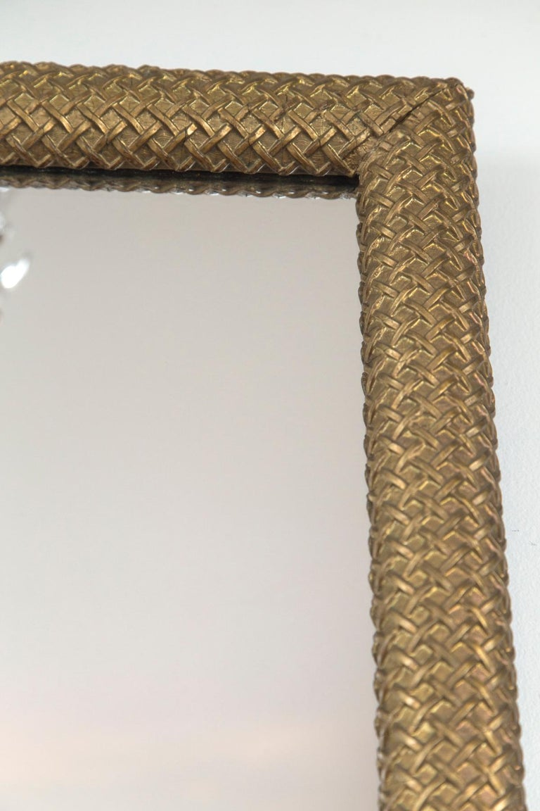 Pair of French Gilt-Wood Mirrors In Good Condition In Westport, CT