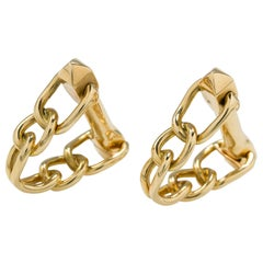Pair of French Gold Cufflinks