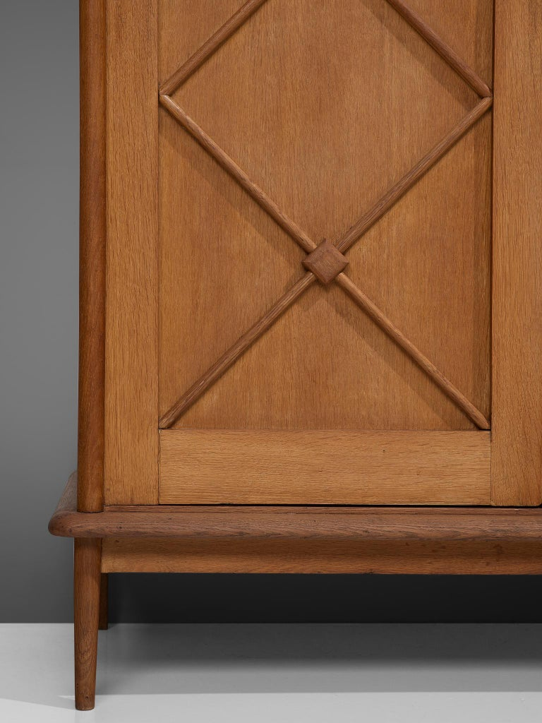 Pair of French High Boards in Oak For Sale 6
