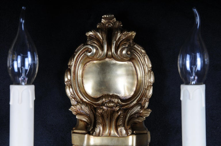 Pair of French Louis-Seize Sconces or Appliques In Good Condition For Sale In Berlin, DE