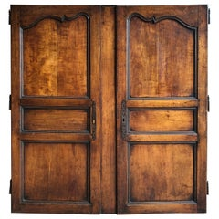 Pair of French Louis XV Cabinet Doors, 18th Century