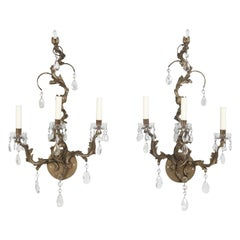 Pair of French Louis XV Style Sconces