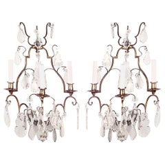 Pair of French Louis XV Style Wall Sconces