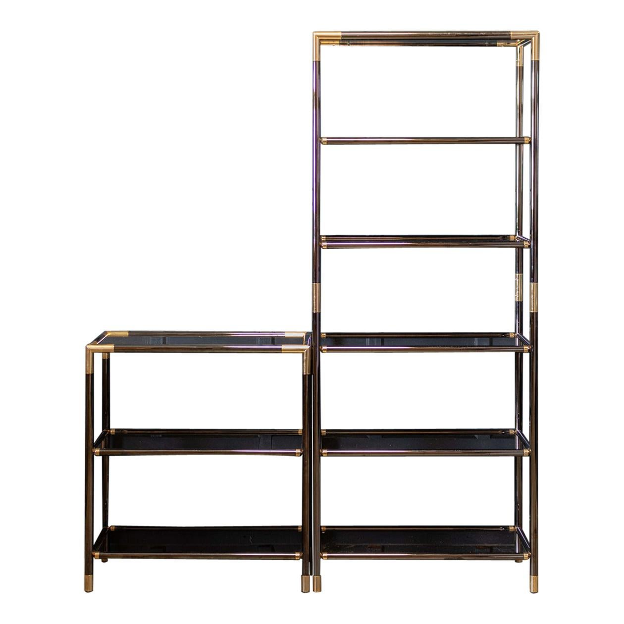 Pair of French Mid Century Etageres Shelving