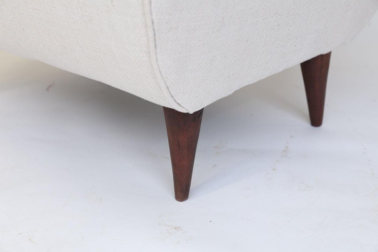 Pair of French Mid-Century Modern Chairs For Sale 1
