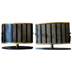Pair of French Mid-Century Modern Table Side Lamps, 1950s