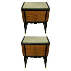 Pair of French Midcentury Night Stands