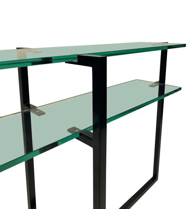 Pair of French Modernist Console Tables 3