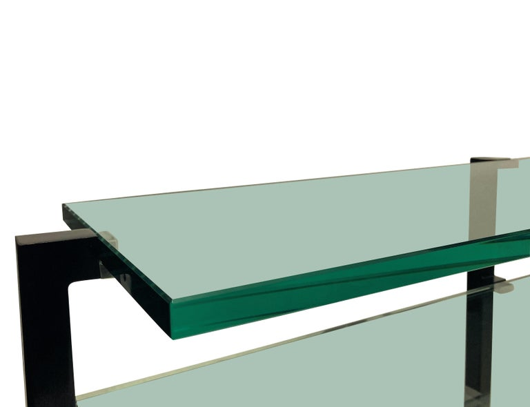 Pair of French Modernist Console Tables In Good Condition In London, GB