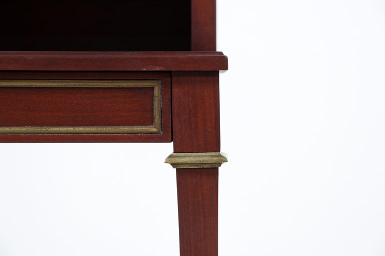 Pair of French Neoclassical Nightstands For Sale 5