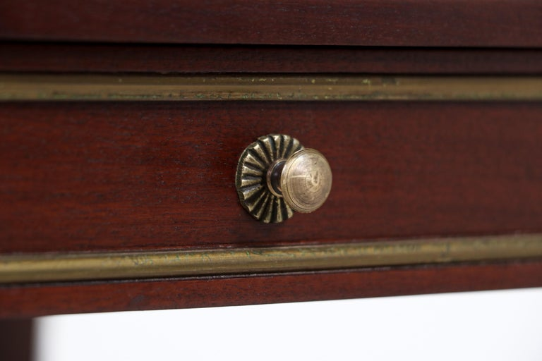 Pair of French Neoclassical Nightstands For Sale 4