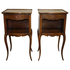 Pair of French Nightstands