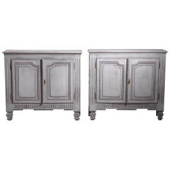 Pair of French or Italian Sideboards, 19th Century