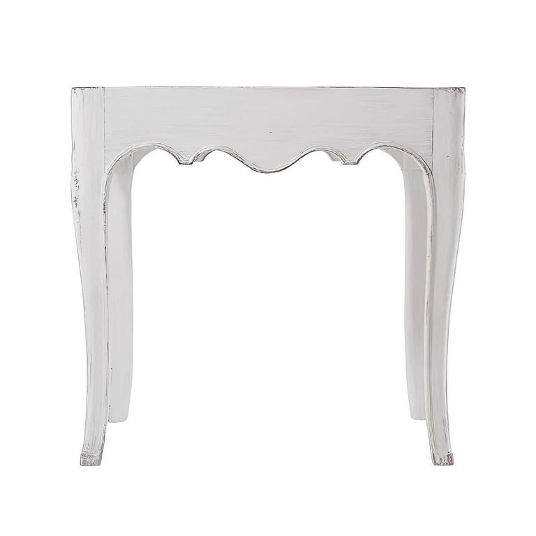 European Pair of French Provincial Side Tables For Sale