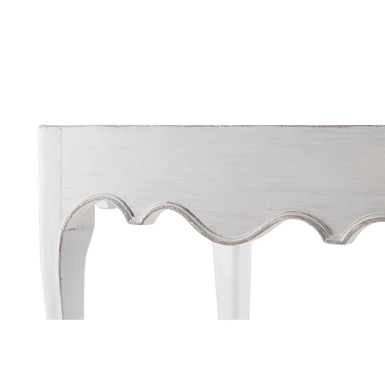Contemporary Pair of French Provincial Side Tables For Sale