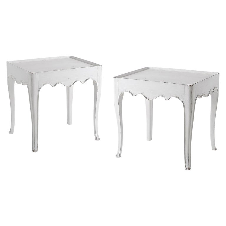 Pair of French Provincial Side Tables For Sale