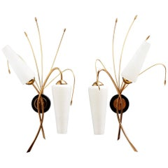 Pair of French Sconces Attributed by Maison Arlus