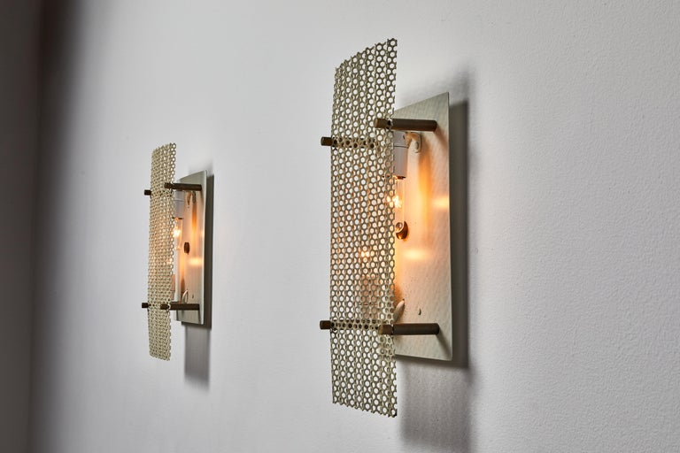 Pair of French Sconces For Sale 1
