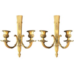 Pair of French Second Empire Candle Sconces