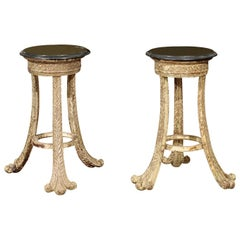 Pair of French Side Tables/Plant Stands