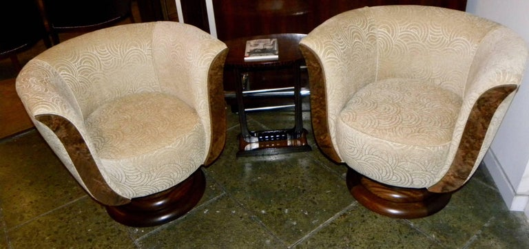 A chair we've been promoting for years. Originally, we bought them back in France (the story is they came out of a hotel). We made some changes, but adding the swivel to the base helped make them tremendous hit. We were finally able to have the