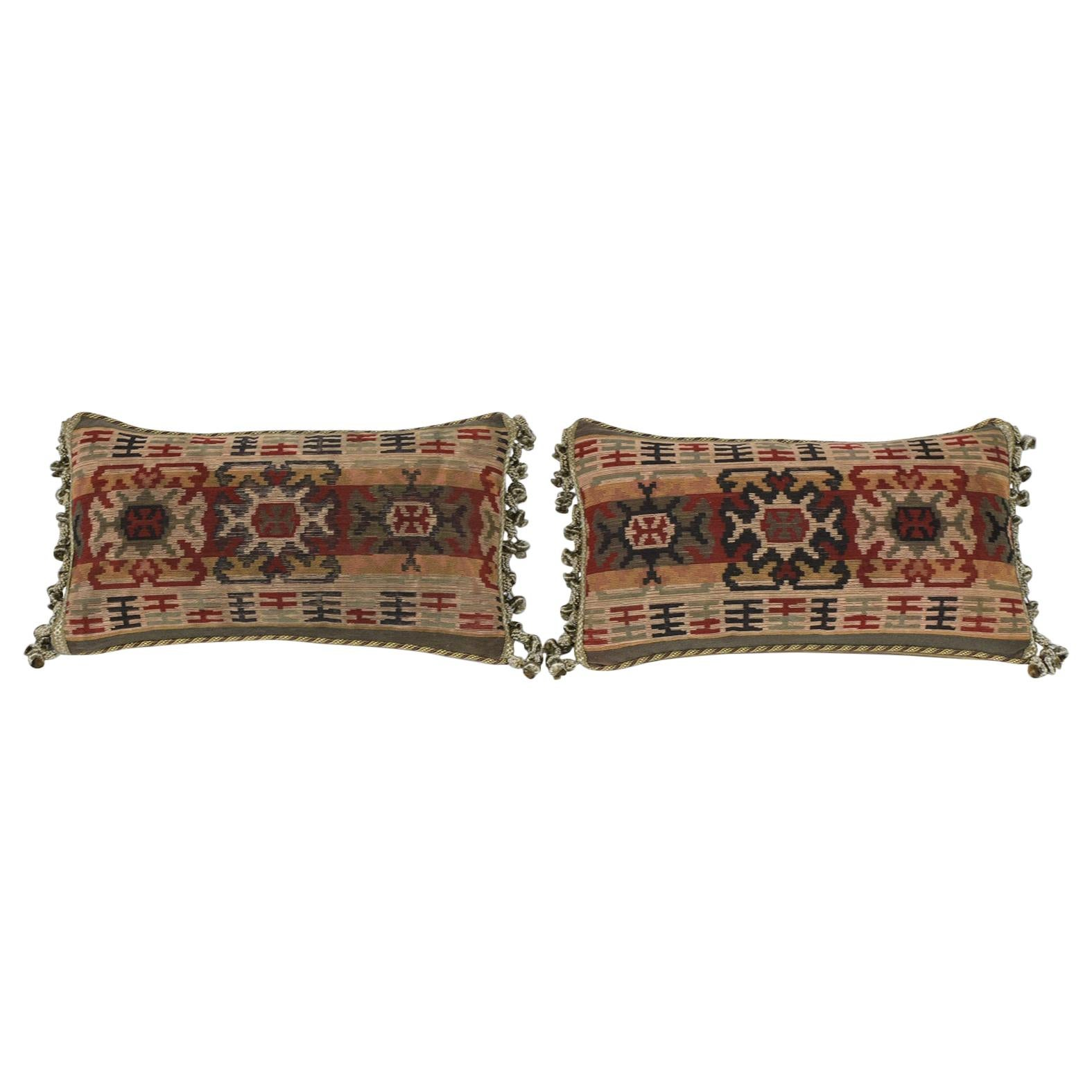 Pair of French Throw Pillows