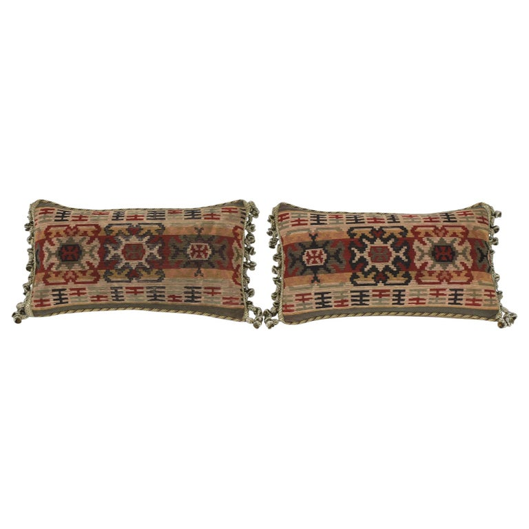 Pair of French Throw Pillows For Sale