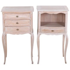 Pair of French Vintage Nightstands