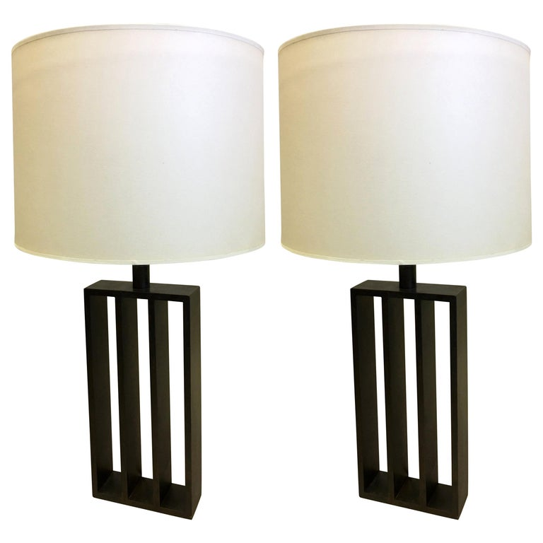 Thomas Gargiulo table lamps, late 20th century, offered by Thomas Gallery Ltd.