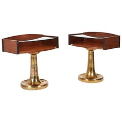 Pair of Frigerio Night Tables from the 1970's