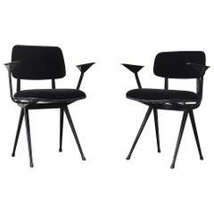 Pair of Friso Kramer 'Result' Armchairs