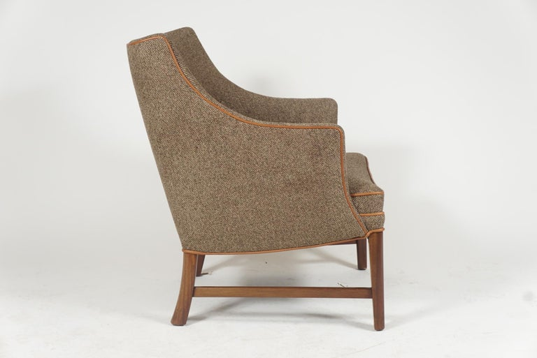 Pair of Frits Henningsen Armchairs In Good Condition For Sale In Hudson, NY