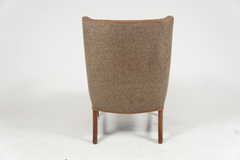 20th Century Pair of Frits Henningsen Armchairs For Sale