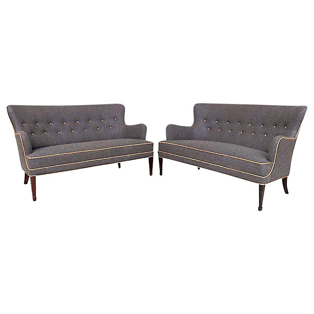 Pair of Sofas by Frits Henningsen