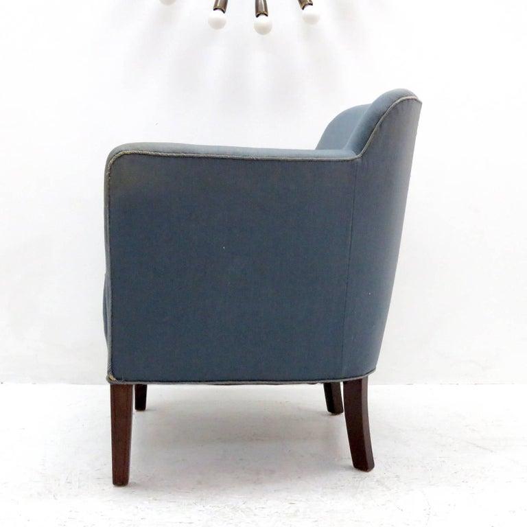 Danish Pair of Fritz Hansen Club Chairs 'Model 1146', 1940 For Sale
