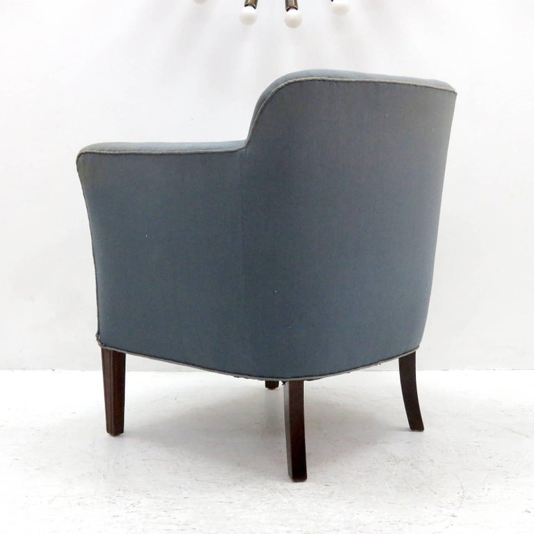 Pair of Fritz Hansen Club Chairs 'Model 1146', 1940 In Excellent Condition For Sale In Los Angeles, CA