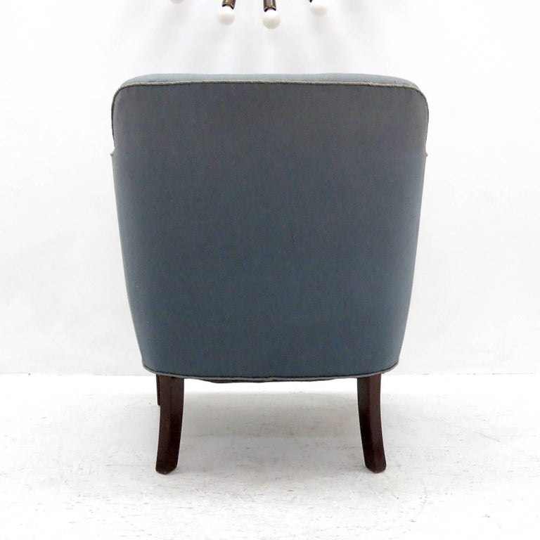 Mid-20th Century Pair of Fritz Hansen Club Chairs 'Model 1146', 1940 For Sale
