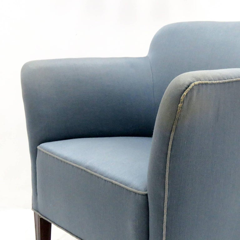 Pair of Fritz Hansen Club Chairs 'Model 1146', 1940 For Sale 1