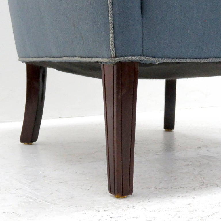 Pair of Fritz Hansen Club Chairs 'Model 1146', 1940 For Sale 2