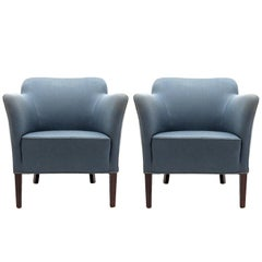 Pair of Fritz Hansen Club Chairs 'Model 1146', 1940