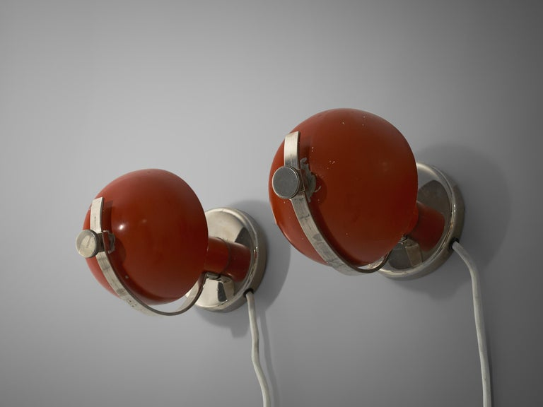 Pair of Functionalist Table/Wall Lights by Erik Tidstrand, 1930s For Sale 2