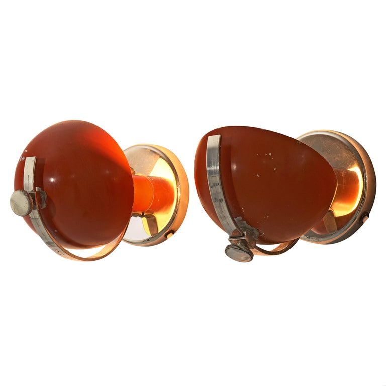 Pair of Functionalist Table/Wall Lights by Erik Tidstrand, 1930s For Sale