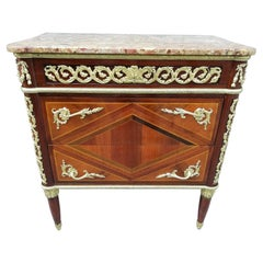 Furniture in Rosewood and Violet Plated Stamped JFLELEU18th Century