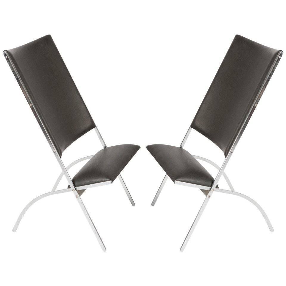 "Pair of ""Pontiponti"" Chairs by Gio Ponti for Pallucco"