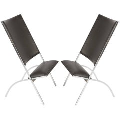 "Pair of ""Pontiponti"" Chairs by Gio Ponti for Pallucco"