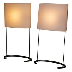 "Pair of ""Gala"" Table Lamps by Paolo Rizzatto for Arteluce"