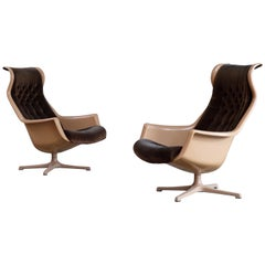 "Pair of ""Galaxy"" Armchairs by Alf Svensson for DUX, 1970s"