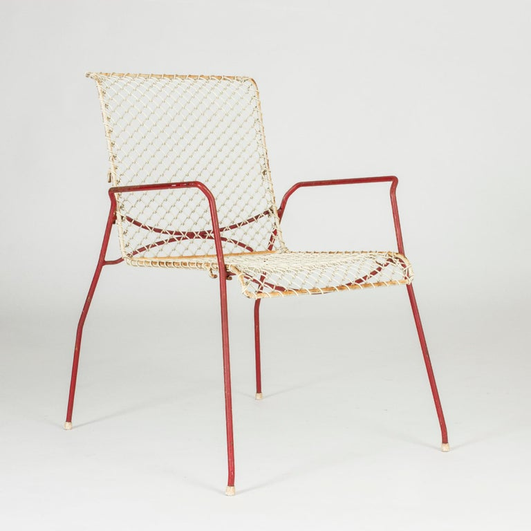 Pair of Garden Chairs from Grythyttan In Excellent Condition For Sale In Stockholm, SE